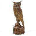 Owl Carved 18