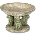 Three Gargoyle Urn Large 4.5