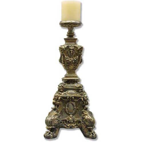Ornate Candleholder Short 24