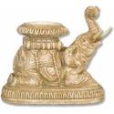 Elephant Roaring Candleholder