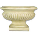 Oval Flute Vase 9