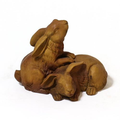 Bunnies At Play