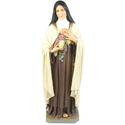 "Saint Therese with Roses 60"" H"