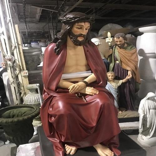 Seated Christ