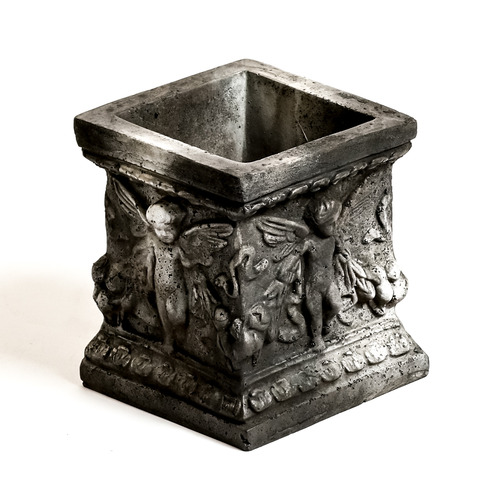 "Square Patio Planter 8""H"