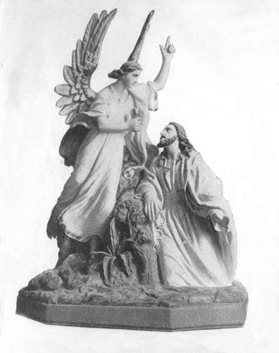 Jesus in the Garden of Olives