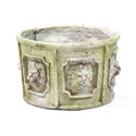 Six Lion Head Urn