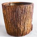 Oak Bark Planter Large