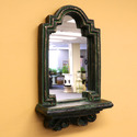 Wall Mirror W/Shelf