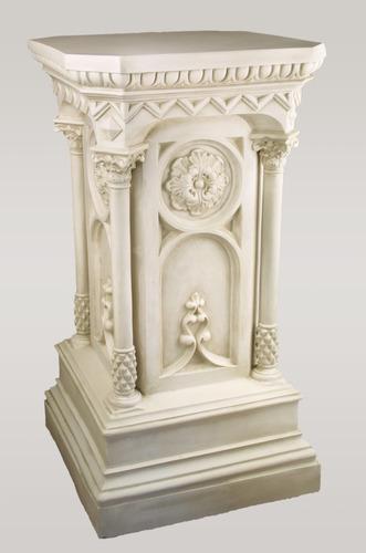 Columned Church Pedestal