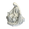 "MARY SITTING FOR LIFESIZE SET 45""H"