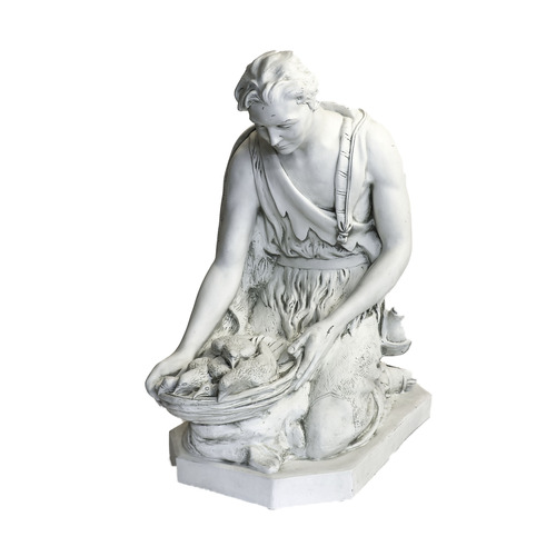 "SHEPHERD KNEELING FOR LIFESIZE SET 42""H"