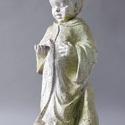 Baby Francis Standing w/Bird