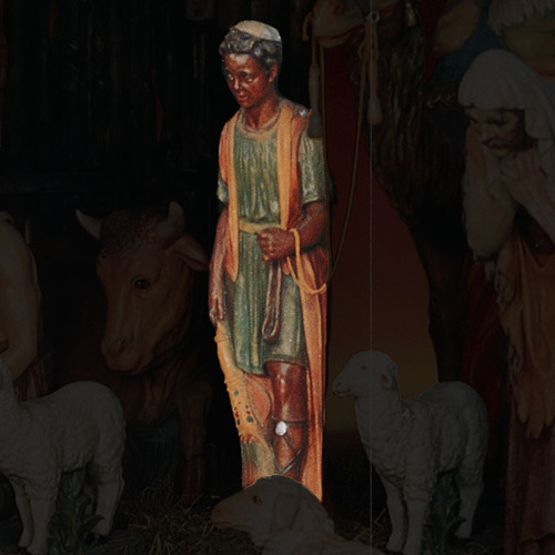 "SHEPHERD BOY FOR LIFESIZE SET 55""H"