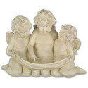 Three Cherub Birdfeeder