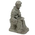 Sitting Saint Francis with Rabbit