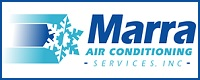 Website for Marra Air Conditioning Services Inc.