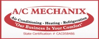 Website for A C Mechanix Heat & Air, Inc.