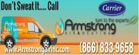 Website for Armstrong Air & Heating
