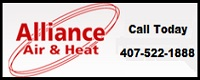 Website for Alliance Air & Heat