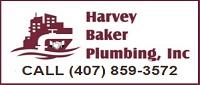 Website for Harvey Baker Plumbing, Inc.
