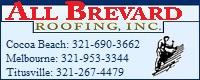 Website for All Brevard Roofing, Inc.