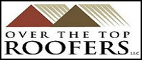 Website for Over The Top Roofers, LLC