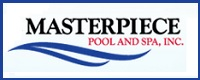 Website for Masterpiece Pool & Spa Inc.