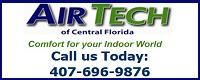Website for Air Tech of Central Florida Inc.