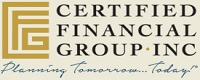 Website for Certified Financial Group, Inc.