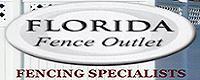 Website for Florida Fence Outlet, Inc.