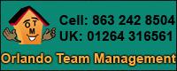 Website for Orlando Team Management