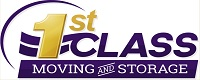 Website for 1st Class Moving Storage, Inc.