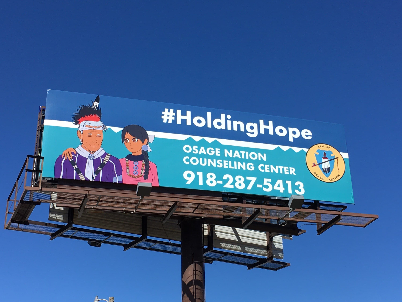 Holding Hope Billboard photo