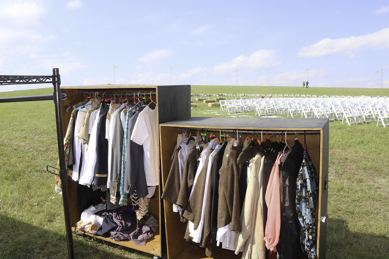 wardrobe on the prairie