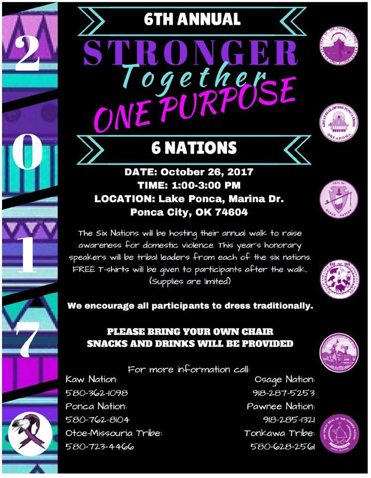 6th Annual Six Nations Walk Flyer