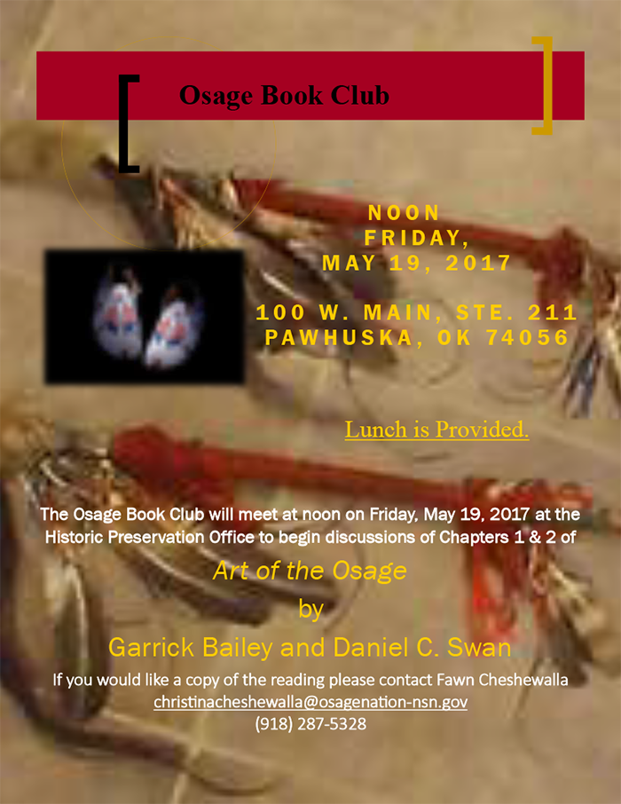 May Book Club Flyer