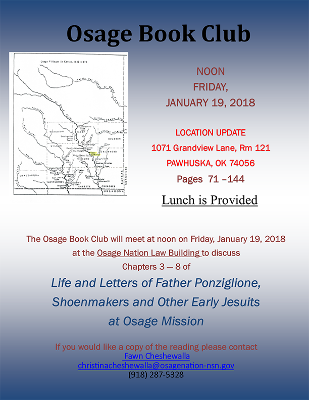 January, 2018 Flyer