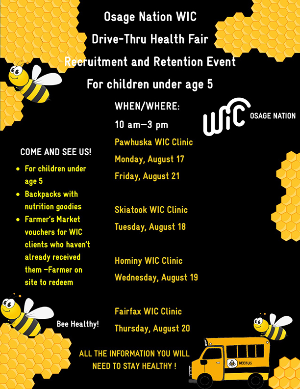 WIC Health Fair Flyer - Recruitment -