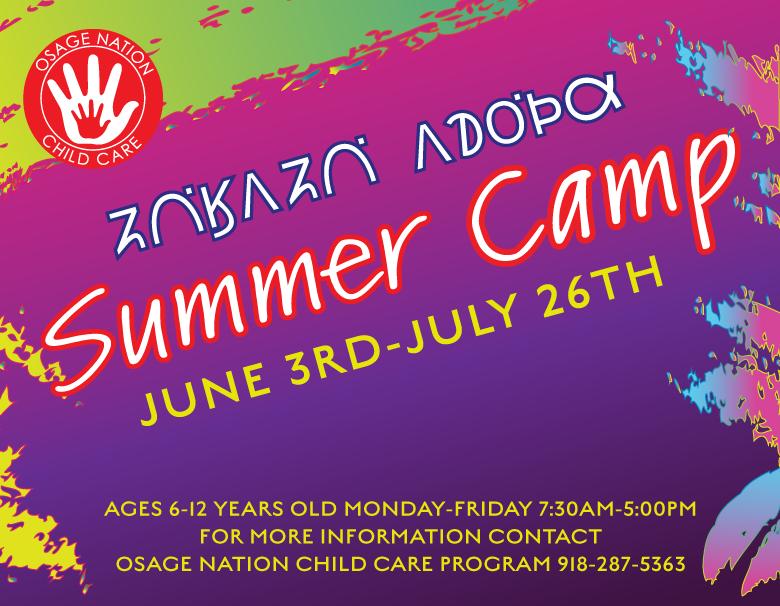 2019 Child Care Summer Camp