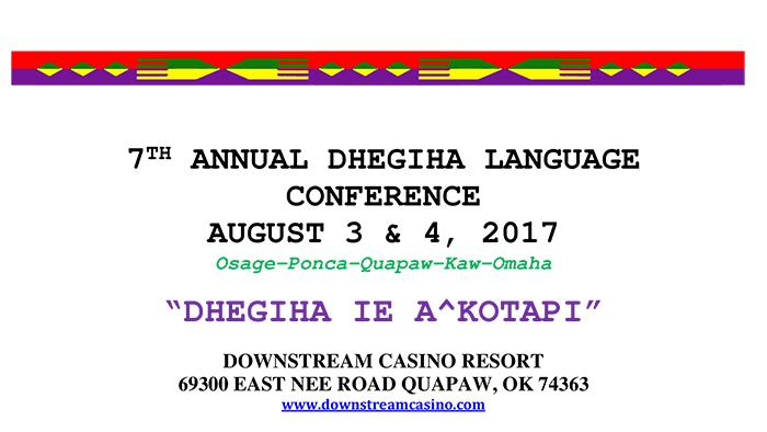 Dhegiha Conference