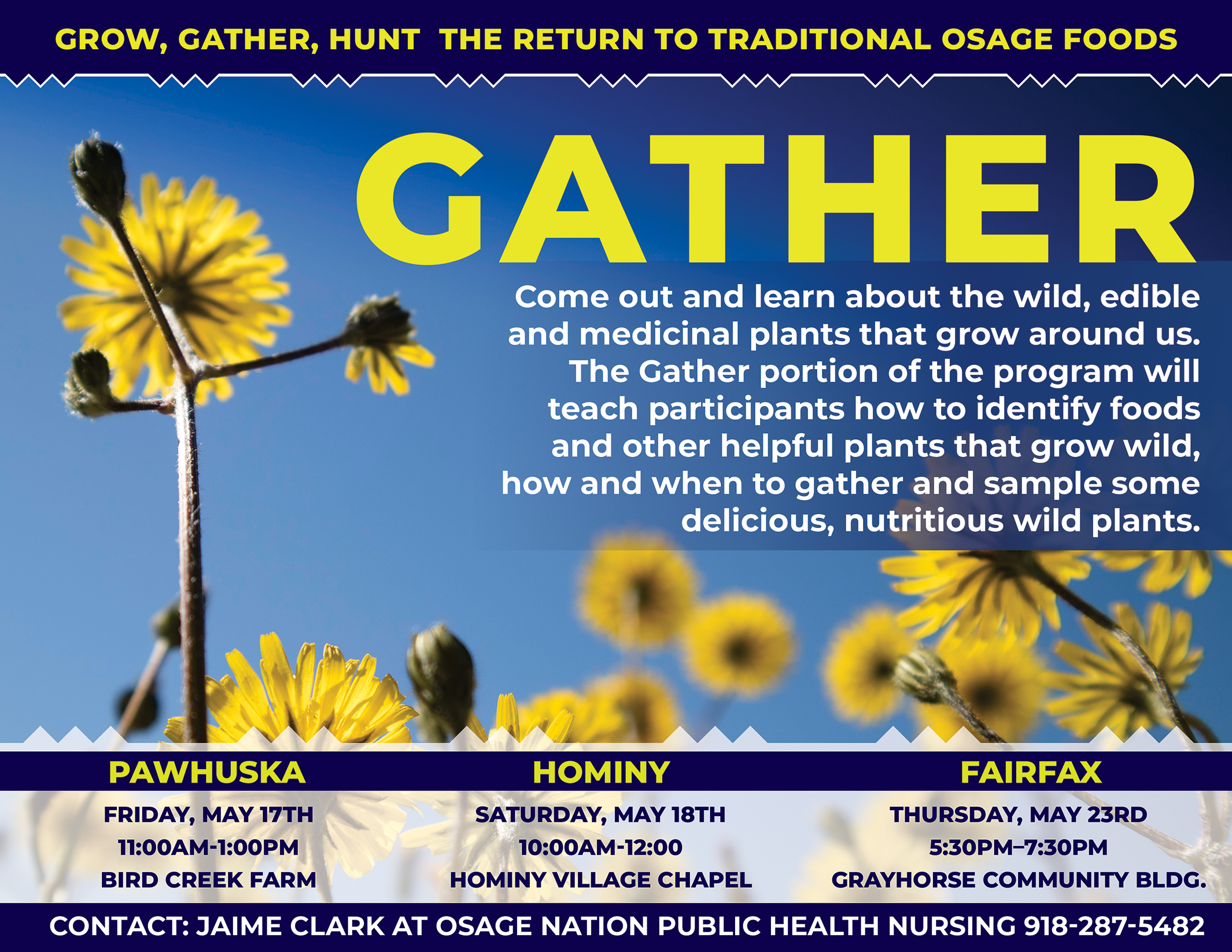 Gather Flyer