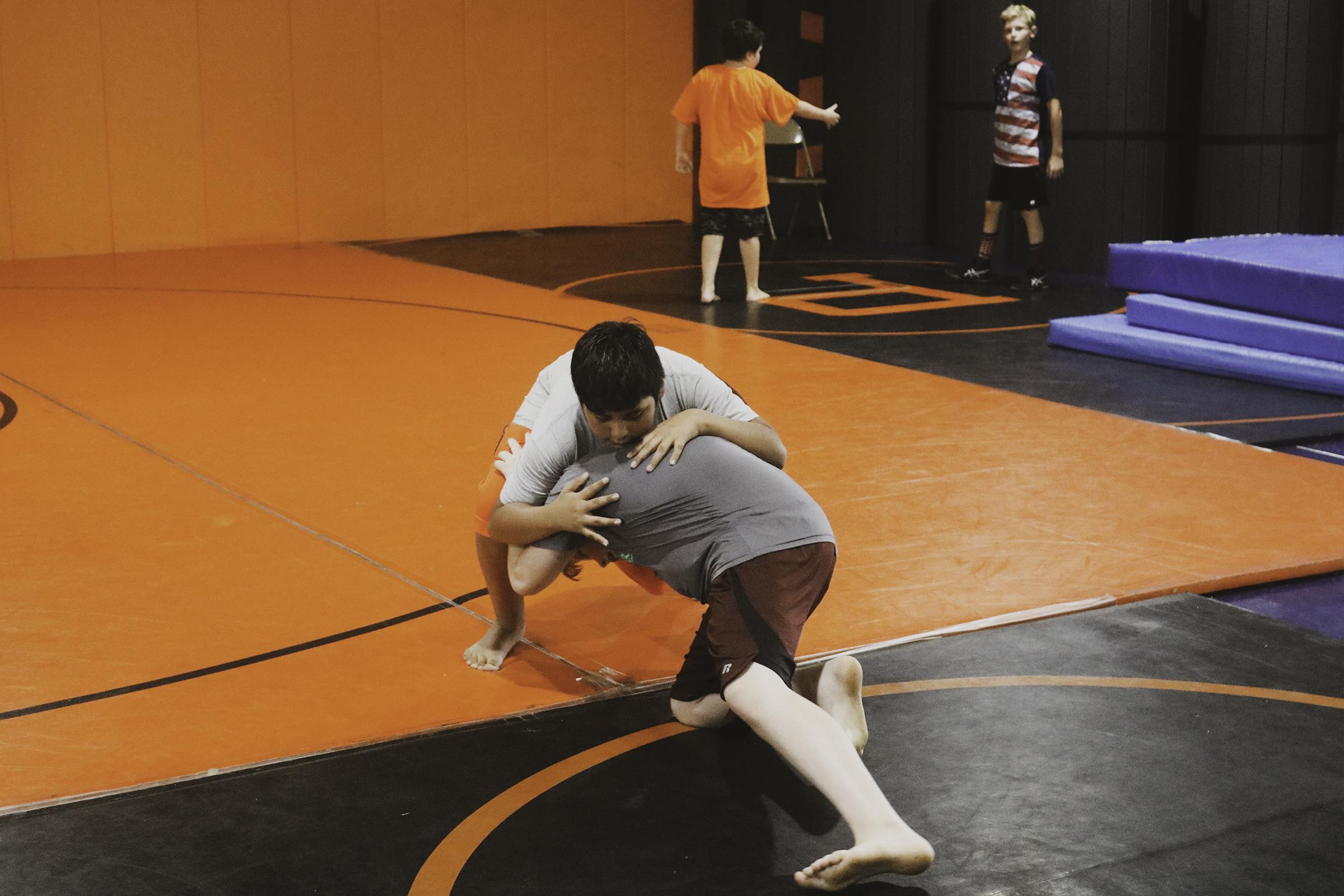 wrestling camp 4