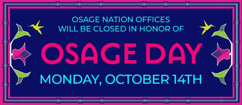 Osage Day slider