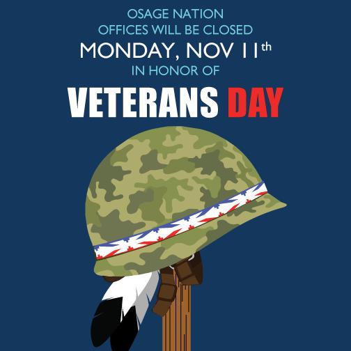 veterans day closing social media picture