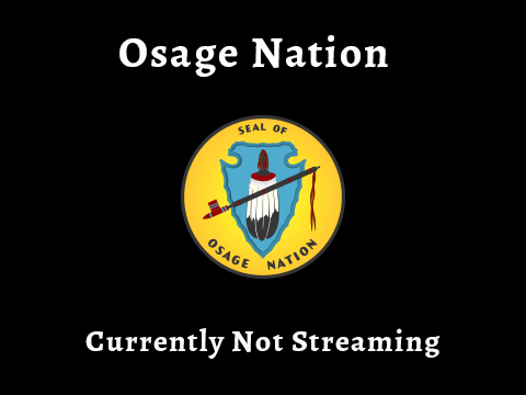 Currently Not Streaming