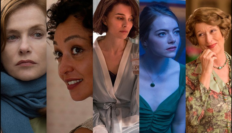 Actress in a Leading Role Nominations 2017 Oscars - Oscars ...