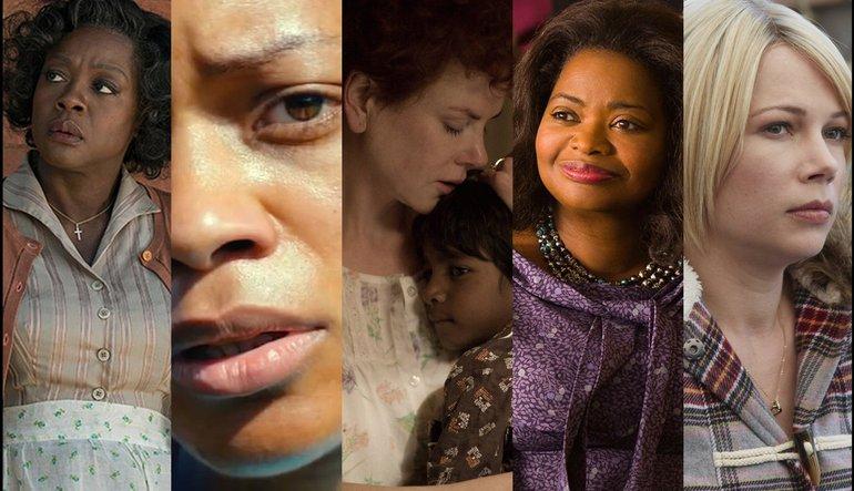 ผลการค้นหารูปภาพสำหรับ oscar academy awards 2017 nominees support women