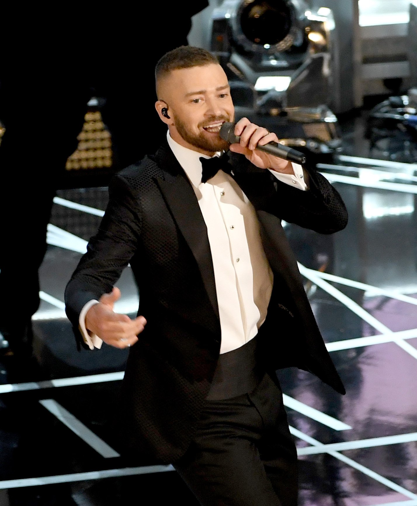 Can T Stop The Feeling Performance By Justin Timberlake on jimmy kimmel oscars