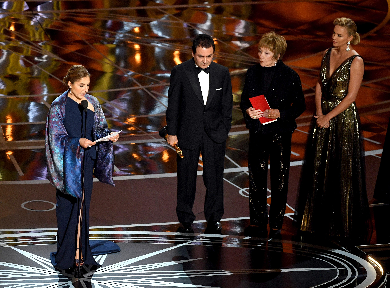 Asghar Farhadi Oscar 2017 Winner Speech Delivered by Anousheh